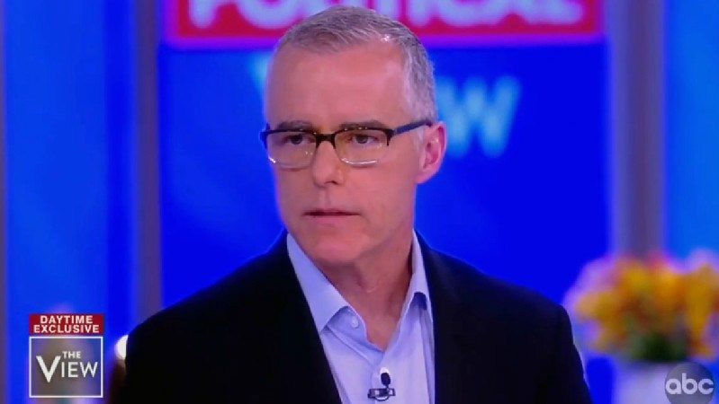 Andrew McCabe Reveals He Has Been Interviewed by Special Counsel Robert Mueller