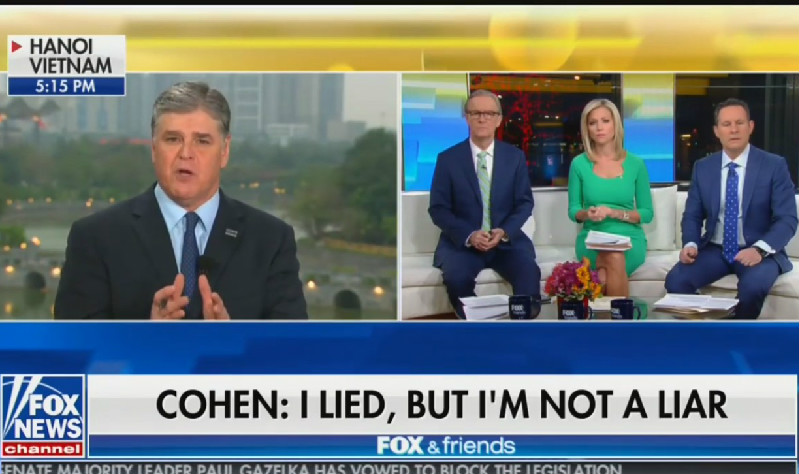 Hannity Claims He Was Never Michael Cohen's Client…And Cohen Apologized to Him