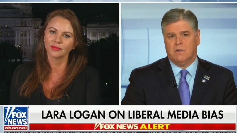 Hannity Tells Lara Logan 'I Hope My Bosses at Fox Find a Place For You'