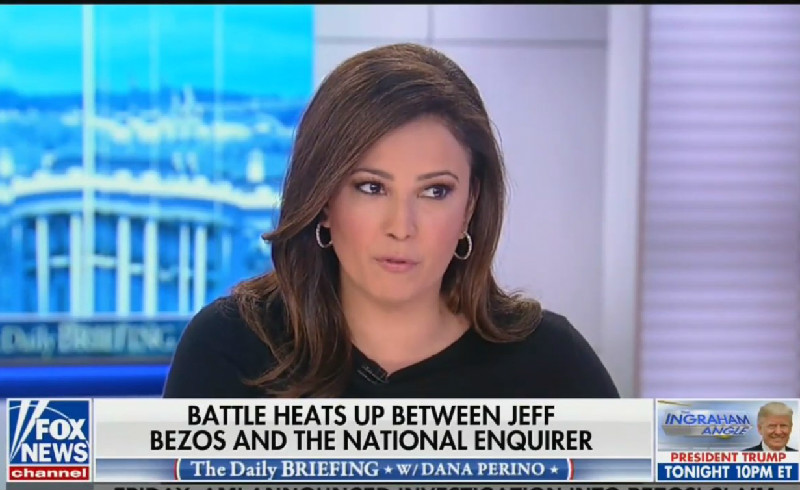 Fox News Anchor Slams Jeff Bezos: 'He's Been Exposed For Being a Dirtbag and Idiot!'