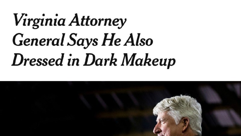 New York Times Blasted For Describing Blackface As 'Dark Makeup' In Headline