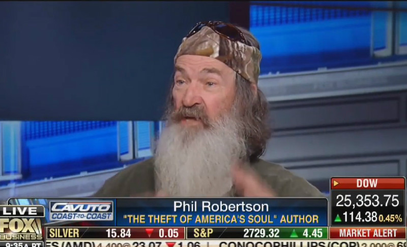 Duck Dynasty's Phil Robertson: I Don't Need Insurance Because God Gave Me 'Eternal Healthcare'