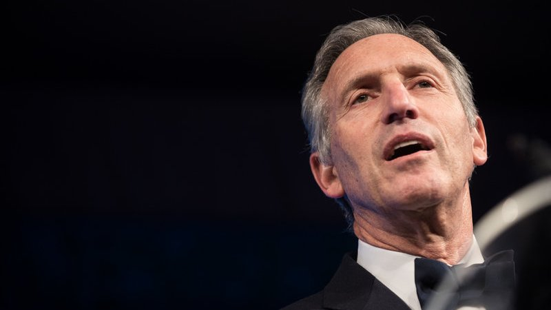 New Poll: Trump Would Benefit If Howard Schultz Runs For President