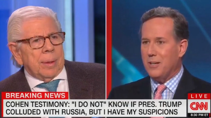 Rick Santorum: Trump Lies All the Time So Why's It 'Any Different' When He Lies About Russia?