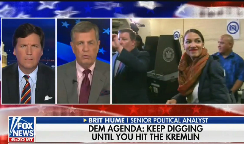 Fox News' Brit Hume: Alexandria Ocasio-Cortez Is 'Adorable' Like A '5-Year-Old Child'