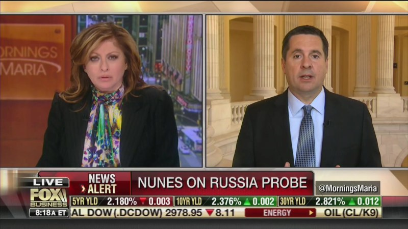 Devin Nunes: Trump Tower Meeting 'Set Up By Clinton Campaign Operatives,' Possibly FBI
