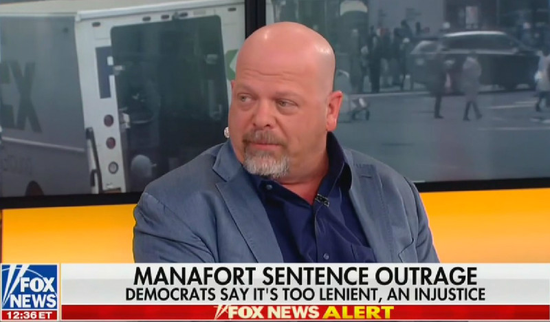 'Pawn Stars' Guy Tells Fox News That It's 'Morally Wrong' to Investigate Paul Manafort