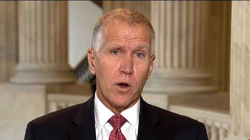 Op-Ed Oops! Sen. Thom Tillis Mocked For Flip-Flopping on Trump's Emergency Declaration
