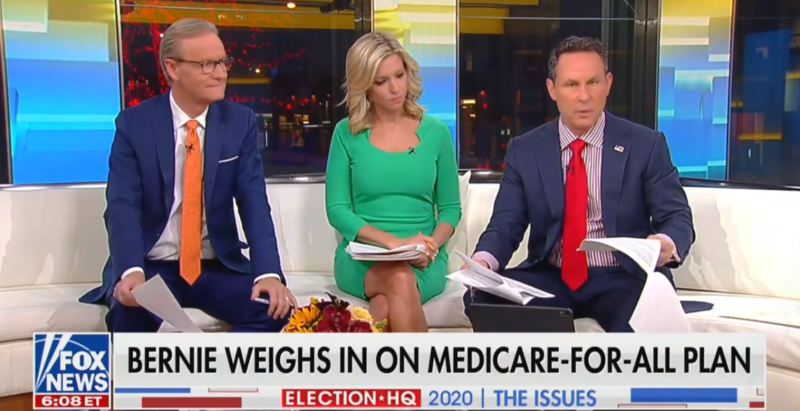 After Sanders' Viral Moment On Fox News, Fox & Friends Call Town Hall 'Tiresome'