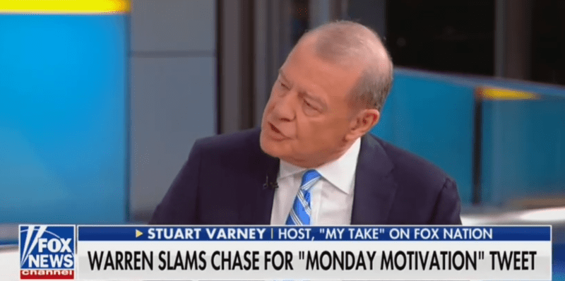 Fox's Stuart Varney Defends Chase Bank's Tweet: What Is Wrong With Giving Solid Financial Advice?