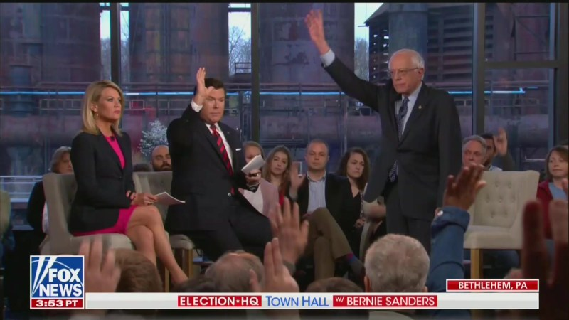 Bernie Sanders' Fox News Town Hall Draws Huge Ratings, Most-Watched 2020 Forum to Date
