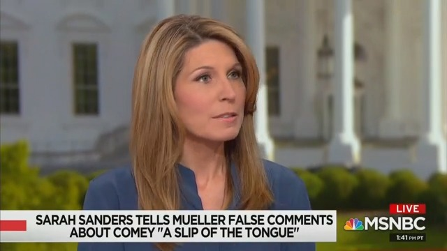 MSNBC's Nicolle Wallace Says She's 'Totally Triggered' By Sarah Sanders: 'She Debases That Podium'
