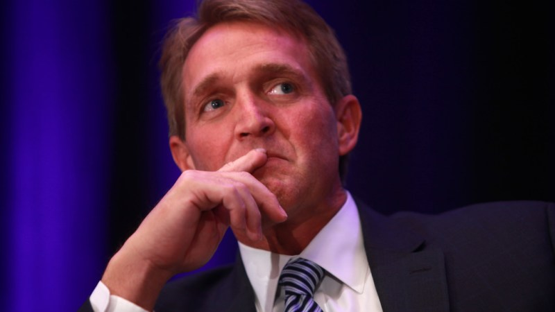 Jeff Flake: Trump Supporters Threatened My Family