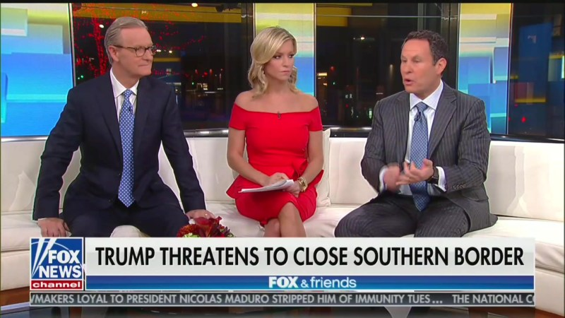 Fox's Brian Kilmeade Warns 'Working-Class' People Their Kids' Classmates Won't 'Speak English'
