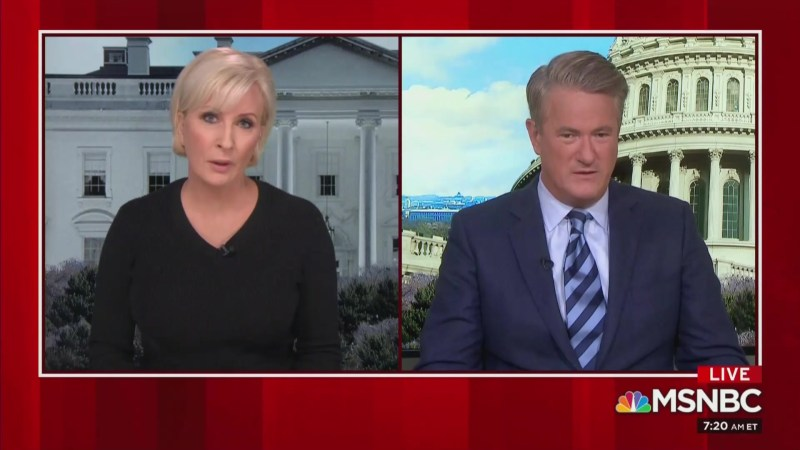 Mika Brzezinski Teases Story That Trump Gave Her 'Unbelievably Inappropriate Hug'