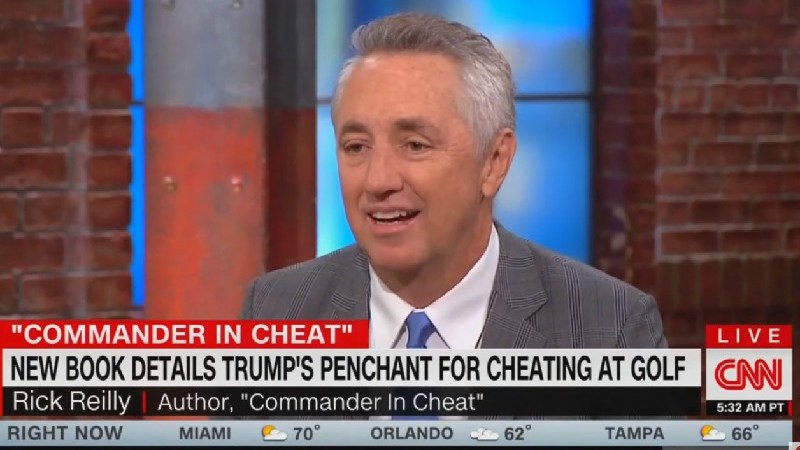 'He Cheats Like a Mafia Accountant': Rick Reilly Reveals How Trump Lies About His Golf Game
