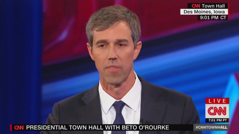 Beto's CNN Town Hall Tanks in Ratings, Places Last in Primetime Demo and Total Viewers