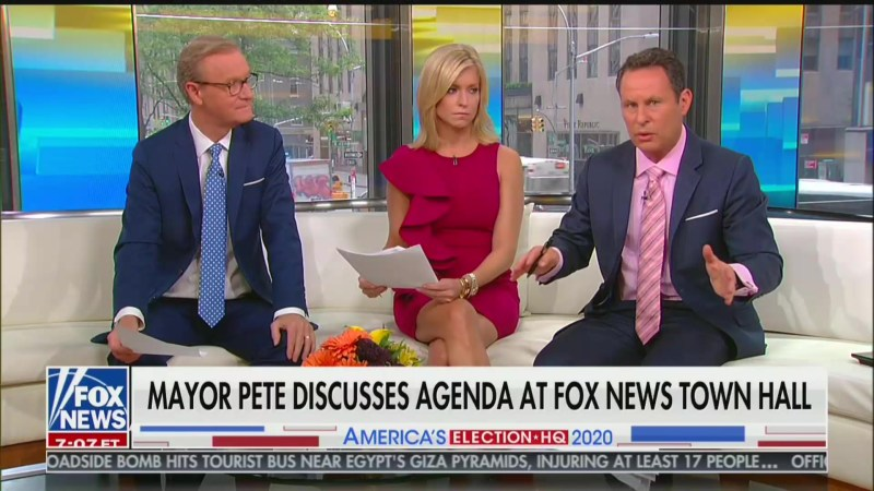 Fox's Brian Kilmeade: Mayor Pete Showed 'No Courage' in Attacking Tucker and Ingraham