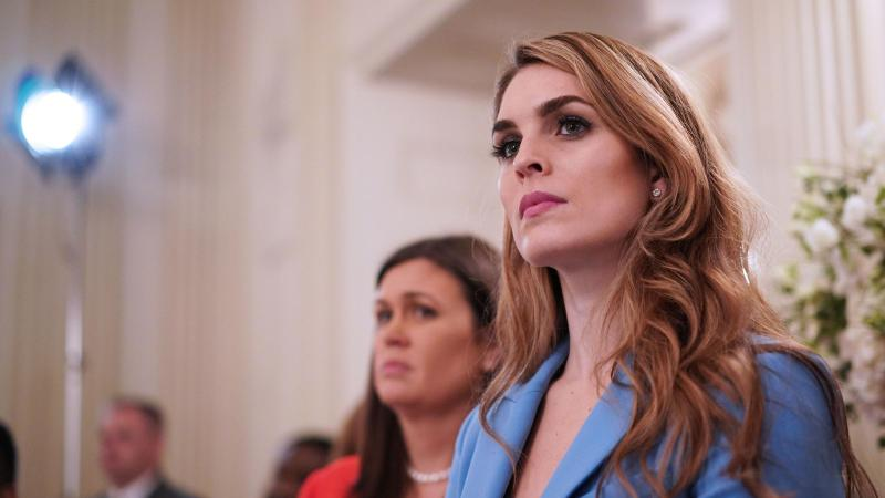Hope Hicks Is Returning to the White House to Work for Jared Kushner