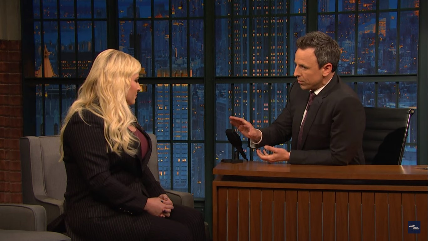 Meghan McCain's Husband Comes Unglued, Calls Seth Meyers a 'Cuck' and 'Piece of Sh*t'