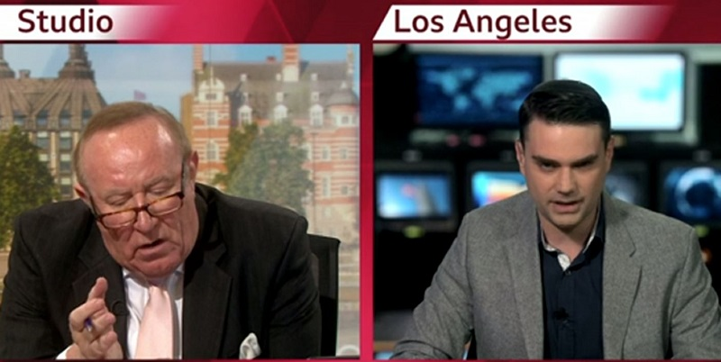 Ben Shapiro Storms Out of Interview When BBC Host Breaks Him on the WHEEL OF LOGIC