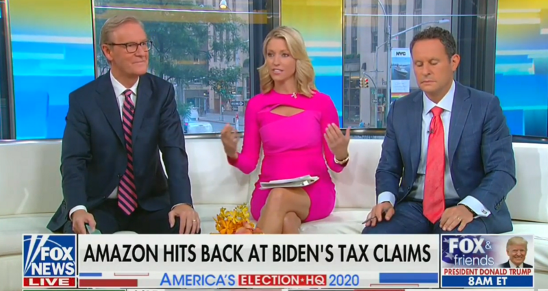 Fox's Kilmeade Suggests Trump Org Won't Release Taxes Because It Wants To Keep The Economy Moving