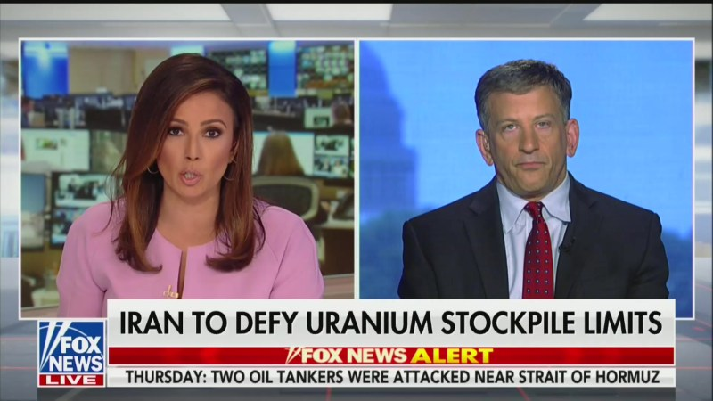 Trump Cryptically Tweets Out Chyron From Fox Segment Encouraging Iran Military Strike