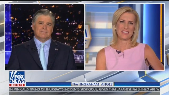 Hannity and Ingraham Toss Around Idea of Tag-Teaming White House Press Briefings