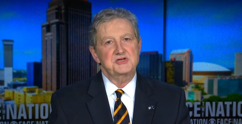 GOP Sen. John Kennedy Challenges Democrats to Impeach Trump: 'Go Hard or Go Home'