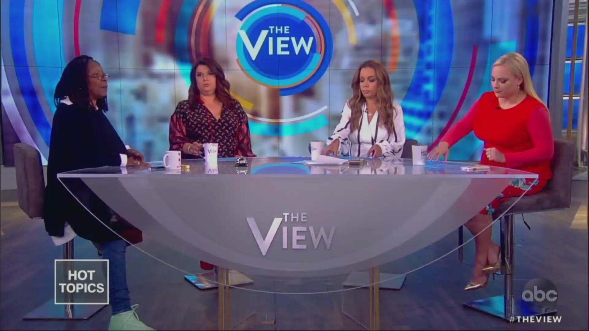 'I Don't Get to Talk?!': Meghan McCain's Latest Outburst Prompts Scolding From Whoopi Goldberg