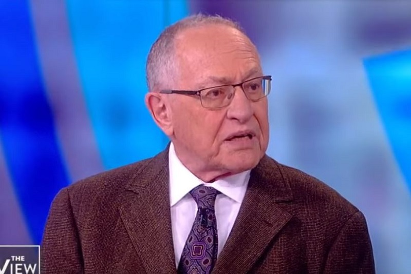 Alan Dershowitz Compares Himself to Founding Fathers, Relieved the Epstein Indictment Doesn't Mention Him