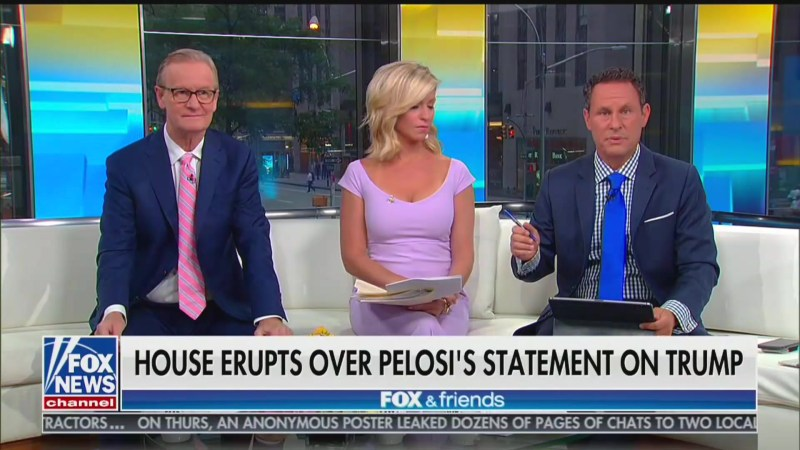 Fox's Brian Kilmeade Whines That Calling Trump a Racist 'Is Personally Offensive'