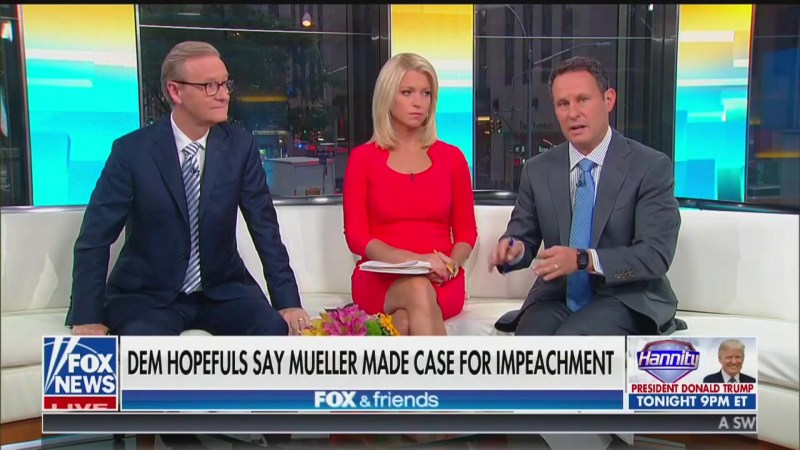 Fox's Brian Kilmeade: Obstruction Part of the Mueller Report Was Just 'Trump Being Trump'