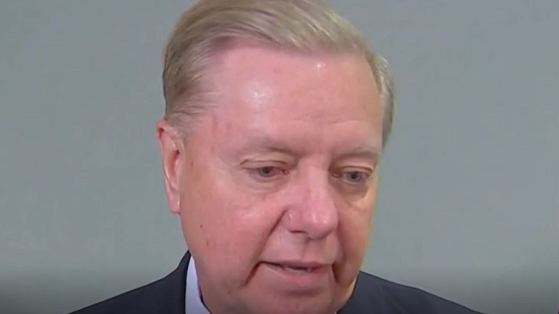 Lindsey Graham Defends 'Send Her Back': 'Trump Doesn't Care About Skin Color If You're Wearing a MAGA Hat'