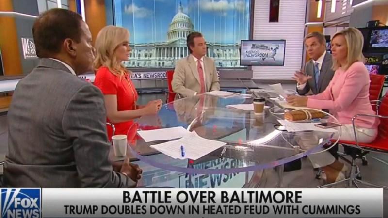 Fox News Anchor Tells Lone Black Panelist to Stop Feeling Trump's Racism