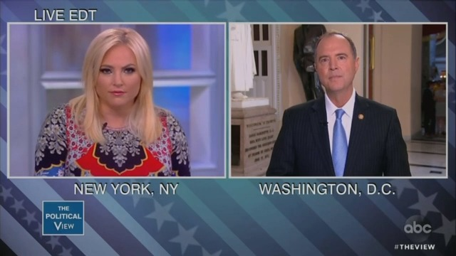 Meghan McCain Confronts Adam Schiff: Provide Your 'Smoking Gun' on Trump Collusion Now