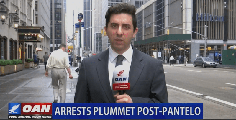 News Network Praised By Trump Misspells Name Of Cop In Eric Garner Death