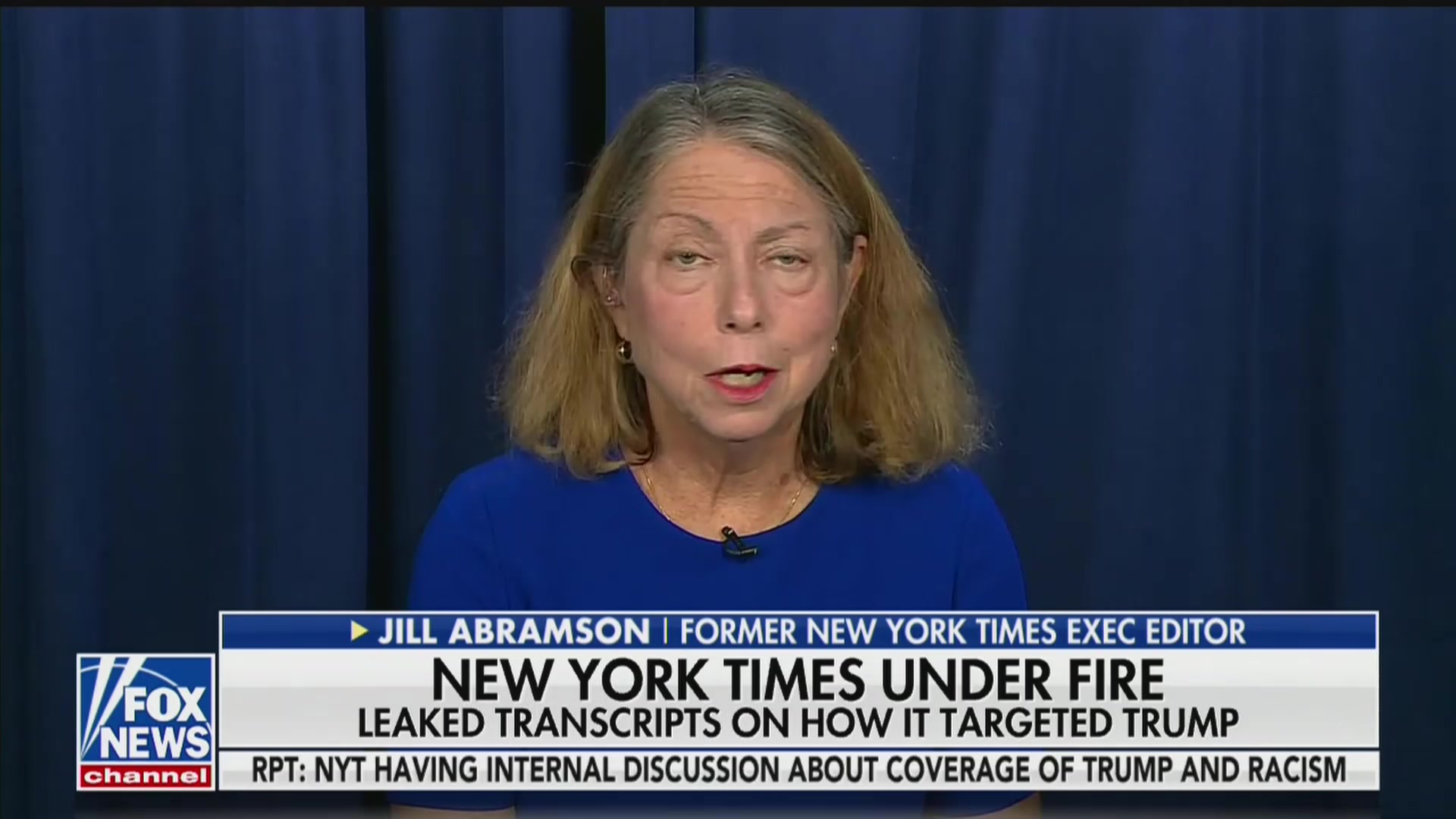 Fox News' Attempt to Get Jill Abramson to Call the New York Times 'Biased' Backfires Spectacularly