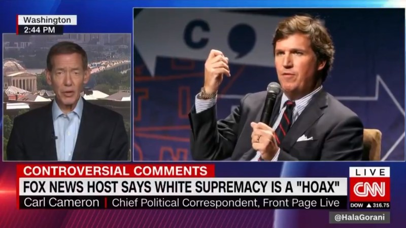 Ex-Fox News Reporter Torches Tucker Carlson's White Supremacy Remarks: 'Wrong' and 'Horrible'