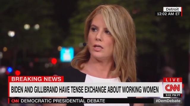 CNN Analyst: Gillibrand's Attacks on Biden During Debate Were 'Craven' and 'Unfair'