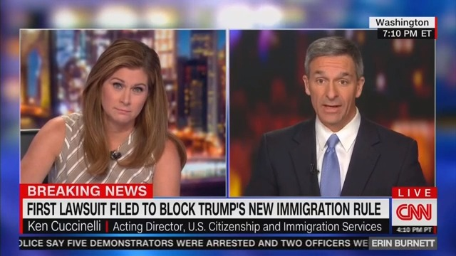 Ken Cuccinelli Claims Statue of Liberty Poem Was Only About Europeans