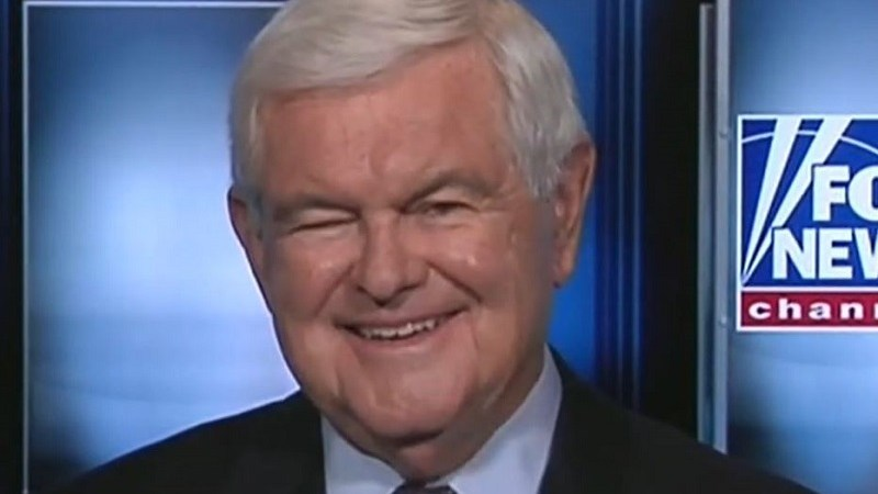 Newt Gingrich Upset the New York Times Project on Slavery Does Not Praise White People for Ending It