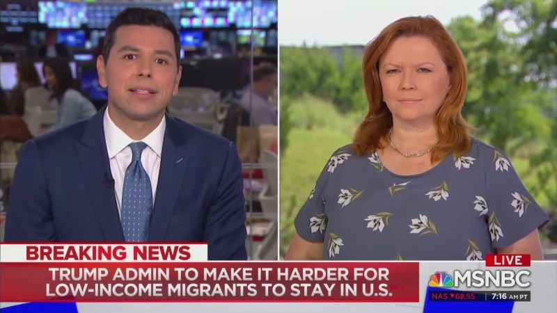 MSNBC Anchor Fires Back on Twitter After Colleague Rebukes Him On-Air Over Immigration