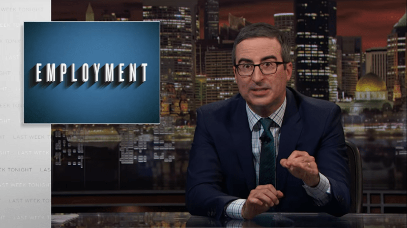 John Oliver Takes On The Immigration System: 'Get In Line' Doesn't Work