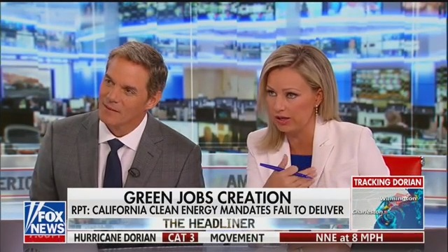 Fox's Sandra Smith Runs Interference for Trump: No Evidence He Doctored Dorian Weather Map