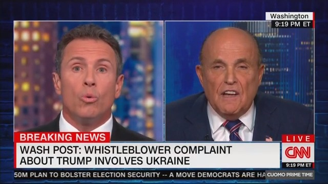 WATCH: Giuliani Admits He Urged Ukraine to Look at Biden Seconds After Claiming He Didn't