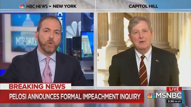 'Don't Gaslight Us!' Chuck Todd Goes at It With GOP Senator on Ukraine and Biden