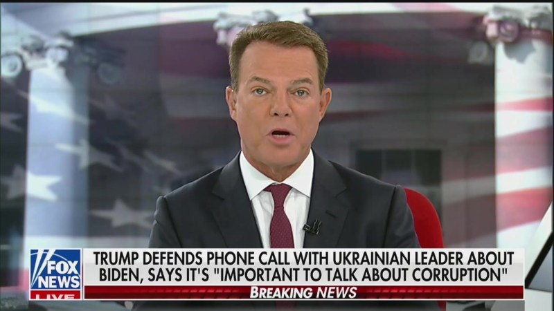 Shep Smith Sets Record Straight: 'Real Issue' Isn't Joe Biden But Trump's Ukraine Call