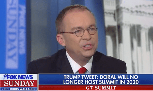 Mulvaney: Trump 'Still Considers Himself To Be In the Hospitality Business'