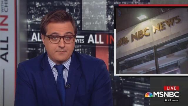 MSNBC's Chris Hayes Backs Former Colleague Ronan Farrow Amid Network Turmoil